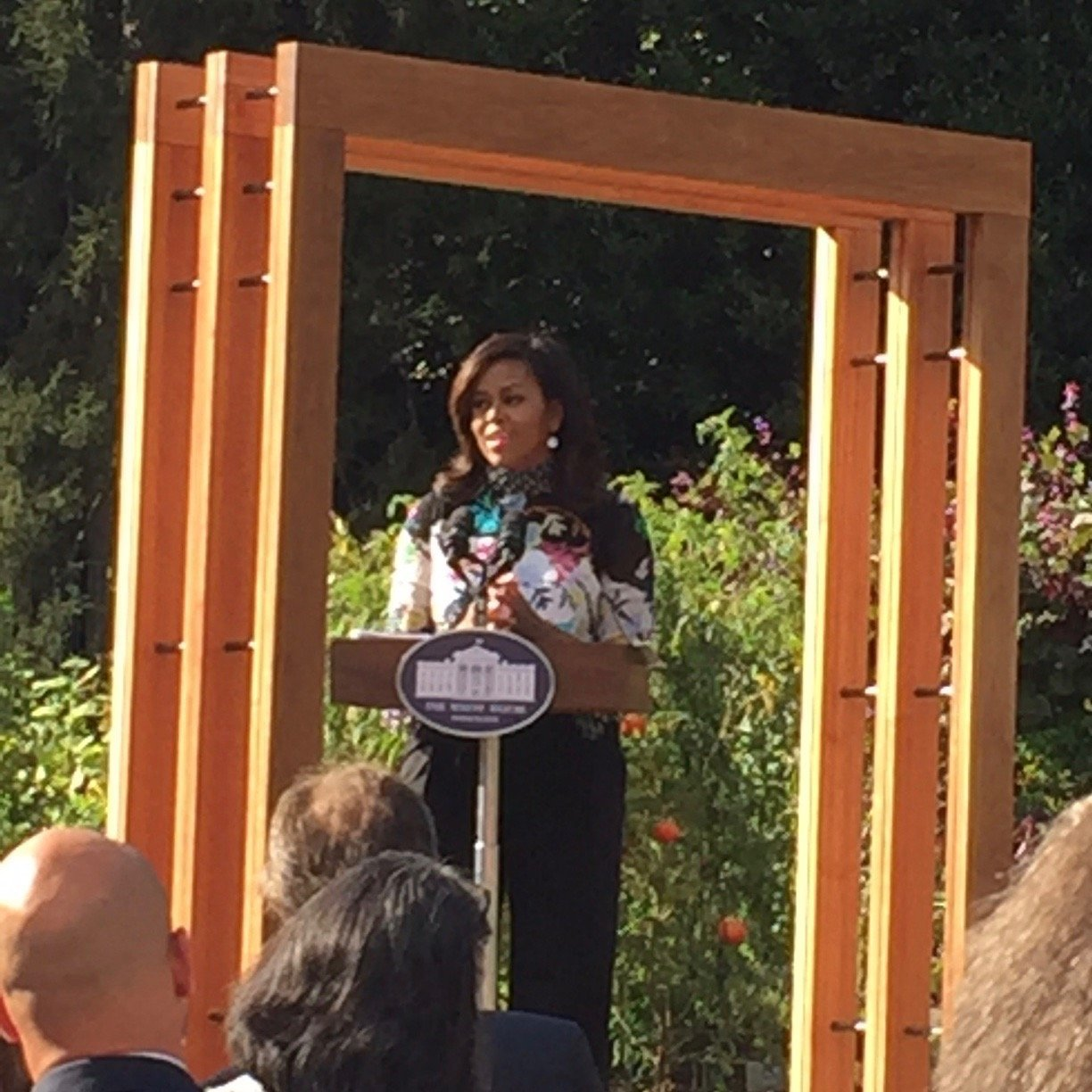 Michelle Obama's Kitchen Garden Is Just the Beginning