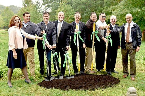 Fidelity breaks ground on community garden image